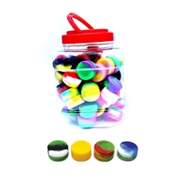 70 Pieces Silicone Container Mini - Jar