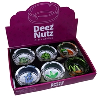 Deez Nutz Glass Ashtray Style 181