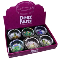 Deez Nutz Glass Ashtray Style 183