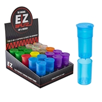 EZ Splitz–Cap & Crusher. Built in Grinder2-IN-1 The Original 20 Count.