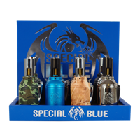 SPECIAL BLUE GRENADE TORCH - 12CT DISPLAY