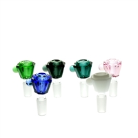Square Shape Heavy  Colored Bowl 14mm