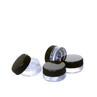 9ml Black Cap Glass Concentrate Container
