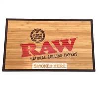 "RAW® Bamboo Floor Mat (30"" x 18"")"