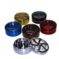 Sharper 2 piece Aluminum Grinder With Push Button