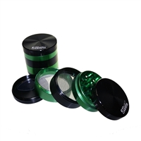 Sharper Grinder 5 Piece 2.5'' Aluminum Dual Screen