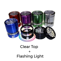 Sharper 5 Piece 2.5''  Clear Top w/ Flashing Light